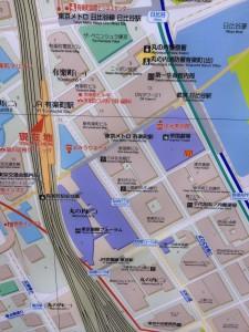 有楽町駅地図