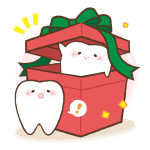 クリスマス歯2